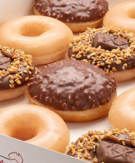 You're About To Go NUTS For Krispy Kreme's Latest Collab With Snickers