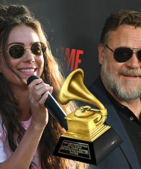 Amy Shark Did A Shot Out Of A Massive Celeb's GRAMMY At Russell Crowe's Farm