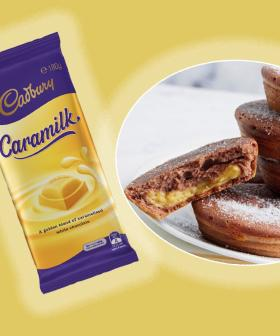 Make Caramilk Custard-Filled Doughnuts With Your Kmart Pie Maker!