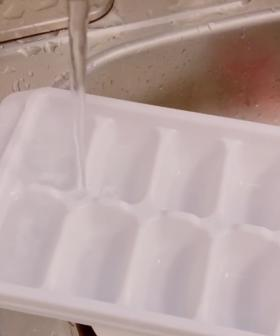 TikToker Shows Us We've Been Filling Ice Trays Wrong This WHOLE TIME!