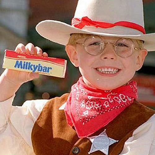 """Who Is Trying Out For The """"Milky Bar Kid-ult""""??"""