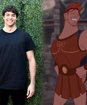 Fans Are Divided Over The Idea Of Noah Centineo Playing Hercules In The Live Action Remake