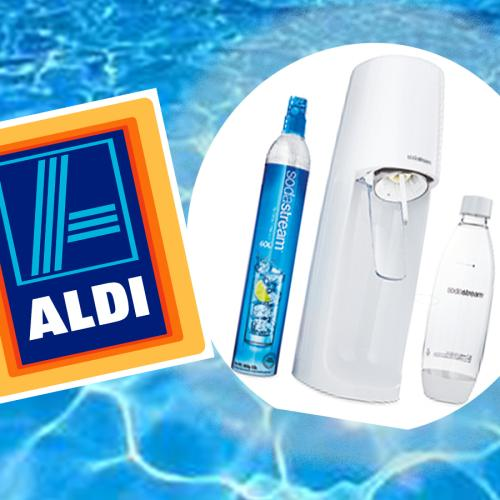 Aldi's Dropping SodaStreams For $70 So Get That Sparkling Water Fix Y'all!