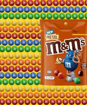 Yum! Pretzel M&M's Heading to Shelves Down Under!