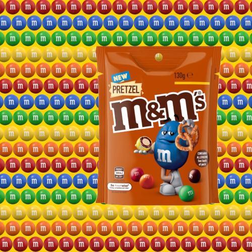 Yum! Pretzel M&M's Heading to Shelves Down Under!
