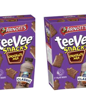 Arnott's Are Selling 'Chokkie Milk' Flavoured TeeVee Snacks!!