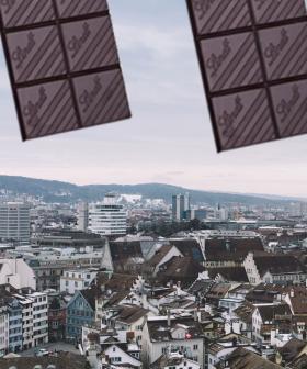 It's Literally Been Raining Chocolate In Switzerland...No, Literally!
