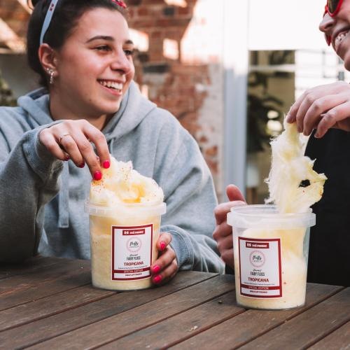Red Rooster Is Collab-ing To Release A Limited Edition 'Pineapple Fritter' Fairy Floss For Charity!