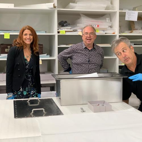 Robin, Terry & Bob's COVID-19 Time Capsule is Officially Sealed!