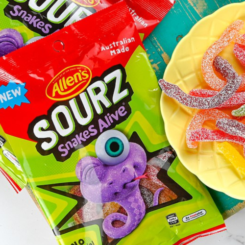 Oh My! Allen's Is Releasing SOUR Snakes Alive