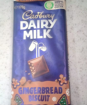 Gingerbread Dairy Milk Chocolate Now Exists & We Need To Get Our Hands On It