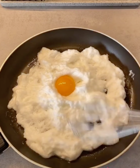 This Is How To Make Fluffy 'Cloud Eggs' For Breakfast This Weekend