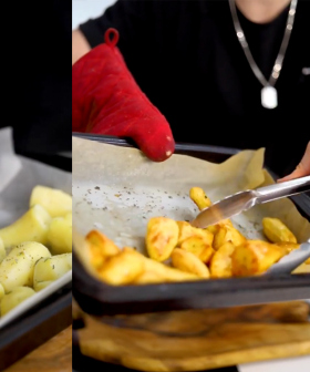 """This Is The Surprising Secret To The """"Best Roast Potatoes You've Had In Your Life"""""""