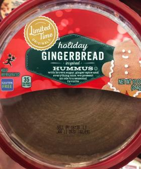 Gingerbread Hummus Has Been Created & It Truly Is The Holiest Time Of The Year