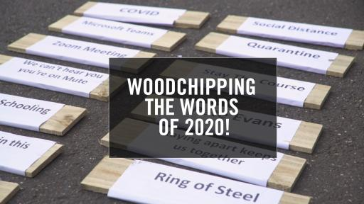 Woodchipping The Words Of 2020!