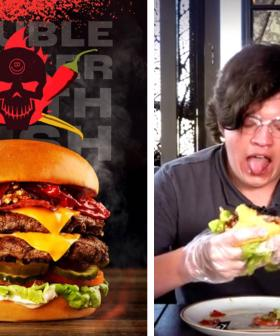 This Burger Is So Spicy It Requires You To Sign A Waiver Before You Eat It