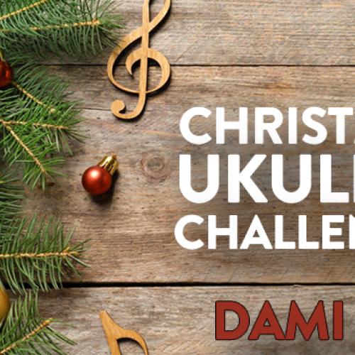 Christmas Ukulele Challenge: Dami Im Sings 'White Christmas LIVE!'
