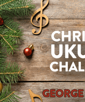 Christmas Ukulele Challenge: Sheppard's George Sings 'Santa Claus Is Coming To Town' LIVE!