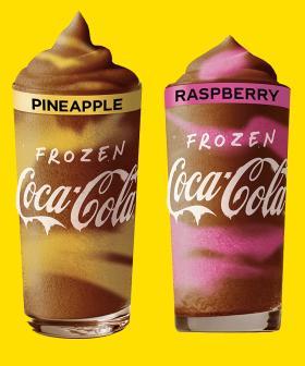 Maccas Has Released 7 Insanely Summery Frozen Coke Flavours!
