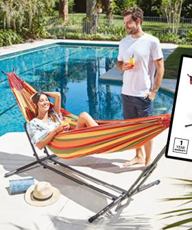 Time To Bring The Holiday To You Because Aldi's Selling HAMMOCKS