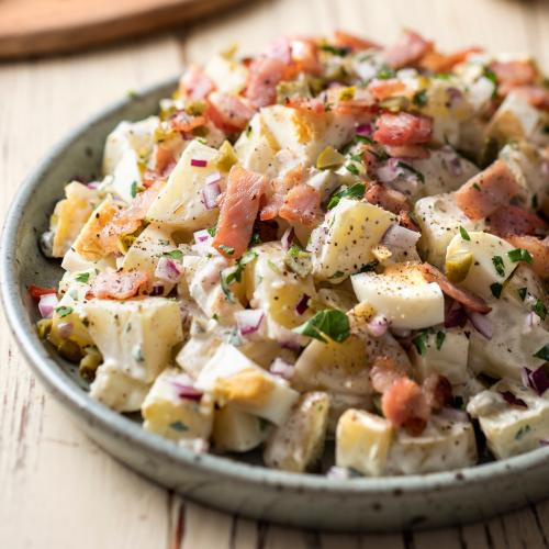 Bec Judd's Favourite Quick, Easy And Delicious Potato Salad Recipe Will Have Your Whole Fam Wanting Seconds!