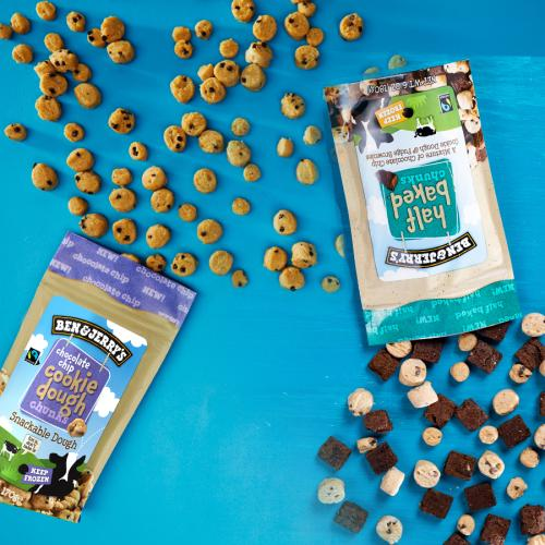 Ben & Jerry's Are Launching Snackable COOKIE DOUGH CHUNKS!