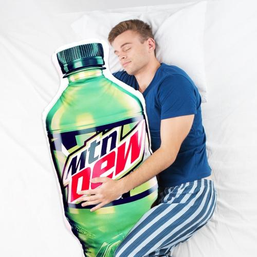 You Don't Have To Feel Single Anymore Coz' An Official Mountain Dew Body Pillow Exists