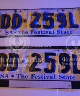 Number Plate Craftsmanship Levels Up As Aussie Driver With Wooden Plates Is Caught