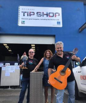 And The New Name For Brisbane's Tip Shops Is... Lord Mayor Adrian Schrinner's Big Announcement!