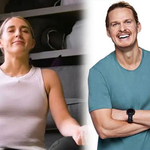Our Very Own Woody Gives PJ Some Health & Fitness Tips For Her Year Of Healthy Habits