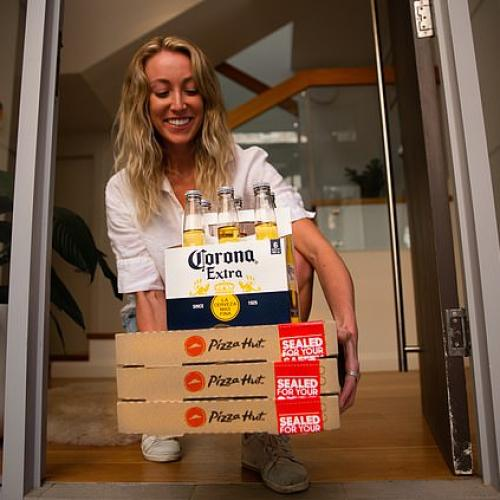 Pizza Hut Is Gonna Start Delivering Beer So You Never Have To Leave Your House