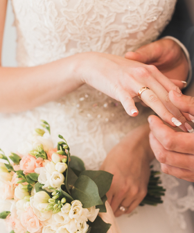 An Aussie Couple SLAMMED Over Their Wedding Invite & Wishing Well Cards