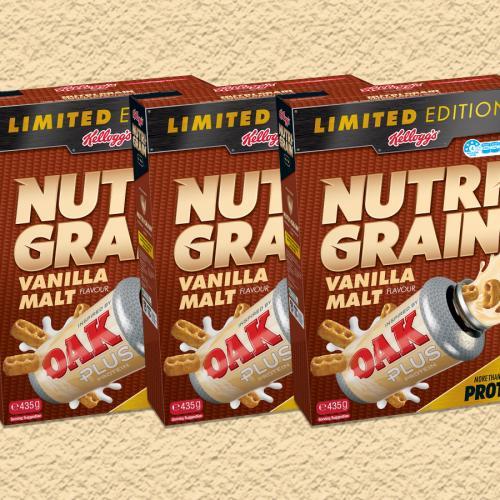 Nutri-Grain's Released A New Vanilla Malt Flavour!