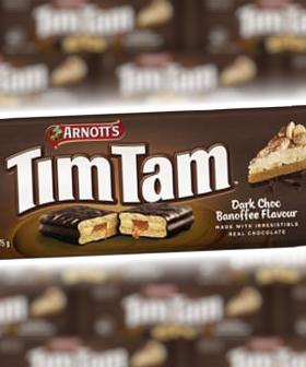 There's A New Banana/Toffee Tim Tam Flavour And It Sounds...Interesting