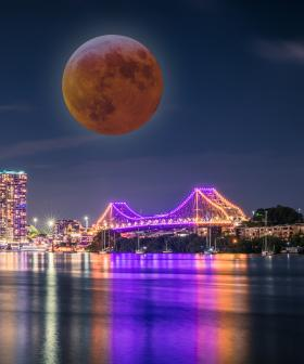 Here's How To Watch Wednesday's Total Lunar Eclipse In Brisbane!