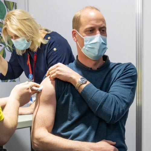 Prince William Got The Vaccine And We Got A Surprise