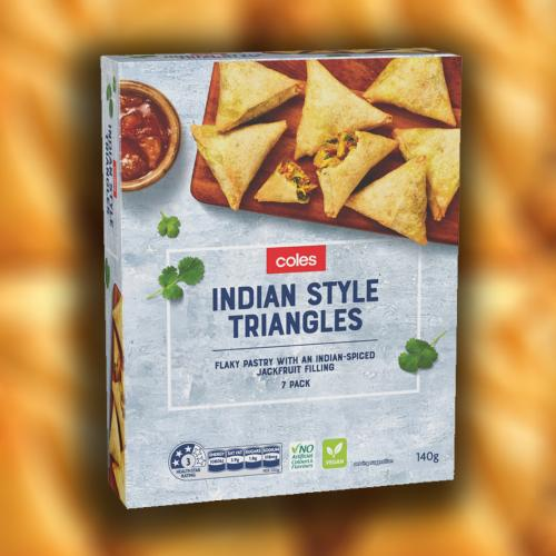 """Coles Have Started Calling Samosas """"Indian Style Triangles"""" And We're Just As Confused As You"""