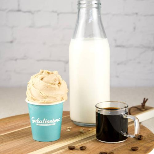 Calling All Caffeine Addicts, Gelatissimo's Got A Gorgeous New Cold Brew Vegan Gelato