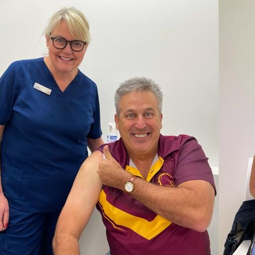 Robin & Terry Got Their First COVID-19 Jabs & Here's How It Went!