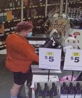 An Eerie Video From Inside A Liquorland Has Aussies Very Confused