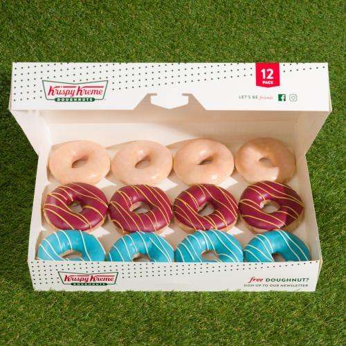Krispy Kreme Are Doing State Of Origin Blues Vs. Maroons Doughnuts!