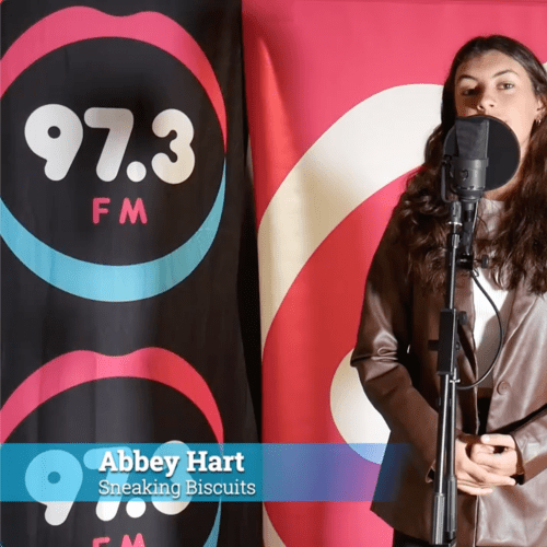 Sneaking Biscuits By Abbey Hart On 97.3FM!