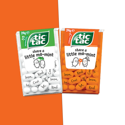 Tic Tac Have Released Adorable Limited Edition Mints With Kind Messages
