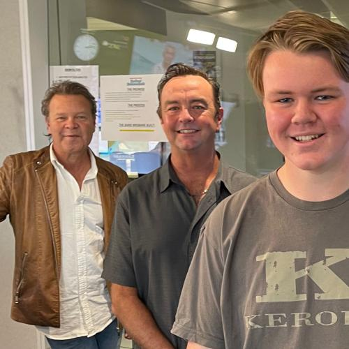 15-Year-Old Jackson Is A HUGE Cold Chisel Fan, So We Surprised Him With Ian Moss!
