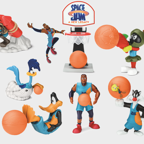 Macca's Happy Meals Are Launching Space Jam Toys!!