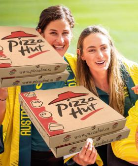 We Get Free Pizza For Every Gold We Win In Tokyo, So We're The Real Winners