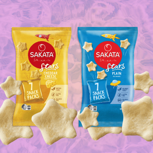 Our Fave Rice Crackers, Sakatas Now Come In Star Shapes!