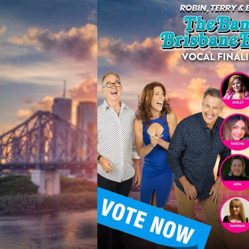 The Band Brisbane Built Top 12 Vocal Finalists!