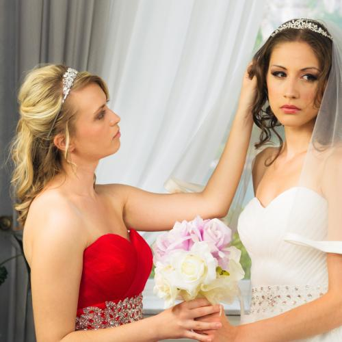 This Bride Asked Her Celebrant 'Not To Die' As It Would Be A 'Major Inconvenience To Her Wedding