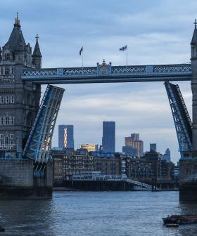 Someone Call Fergie, It Looks Like The London Bridge Won't Go Down!